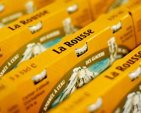 Bouteilles Rousse Brasserie du Mont-Blanc