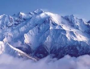 l'eau des glaciers du Mont-Blanc