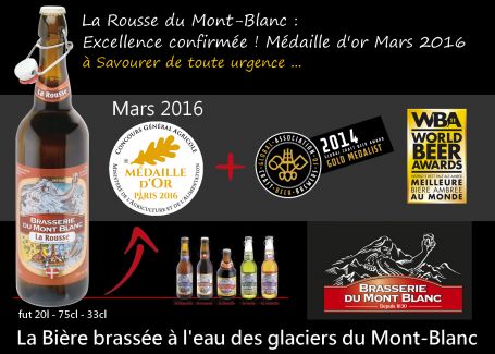 Excellence confirmée pour la Rousse du Mont-Blanc